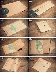 How To Make Cd Cover By Folding Paper Papercrafting Gotta Make