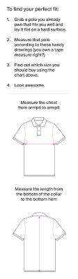 Mens Shirt Size Chart Polos Pants More Psycho Bunny