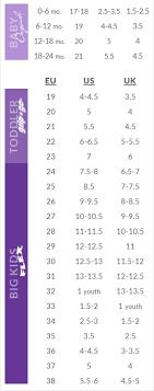 Skechers Kids Shoes Size Chart Www Bedowntowndaytona Com