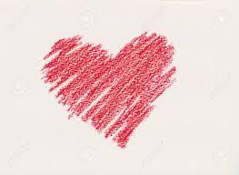 Coeur Rouge De Crayon Dessin Banque D Images Et Photos Libres De