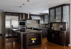 Small Picture Interesting Modern Walnut Kitchen Cabinets Colors With Of Kitchens