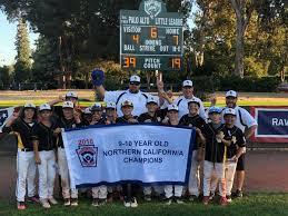 rvll 10u northern california state champions