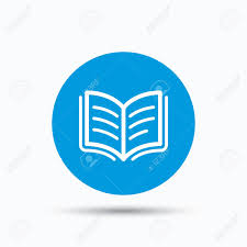 a symbol in literature globe books apple blank global geography  book icon study literature sign education textbook symbol study literature sign education textbook symbol blue circle