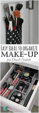 Easy Makeup Organization Tips