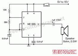 simple buzzer circuit circuit wiring diagrams simple buzzer circuit