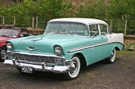 File:Chevrolet Bel Air 1956 4door Sedan front.jpg - Wikimedia Commons