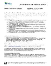 Resume Habitat For Humanity On Resume Debnamcareyweb Worksheets