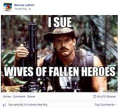 Lone Survivor' Marcus Luttrell Responds to Jesse Ventura's Lawsuit ... via Relatably.com