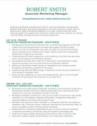 Marketing Manager Resume Magnificent Associate Marketing Manager Resume Samples QwikResume