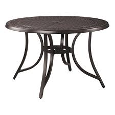 round outdoor table. Signature Design By Ashley Burnella Round Outdoor Dining Table P456-615 R