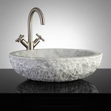 stone vessel bathroom sinks stone vessel sink and linus vessel faucet pop up lima oil rubbed bronze finish ultra shower set home improvement and interior