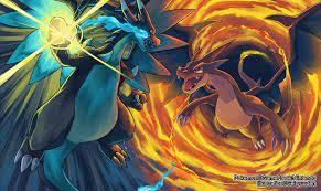 Pokemon Mega Charizard X And Y Wallpaper