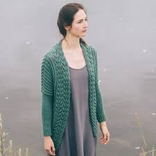 Burke | Cardigan, Knit sweater cardigan, Knitting women