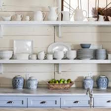 redoing metal open wall shelves ikea modern kitchen kitchen color