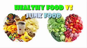 junk food vs healthy food.  Food Healthy Food VS Junk With Vs YouTube