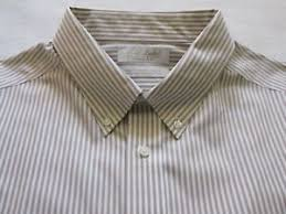 Details About Roundtree Yorke Gold Label Non Iron L S Shirt Sz 17 1 2 33 Fitted Nwot