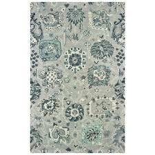 oriental weavers zahra 75508 grey blue area rug