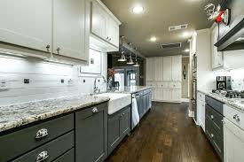 modern galley kitchen design. Modern Galley Kitchen Designs With Flat Panel Cabinets Hardwood Floor Small Design D