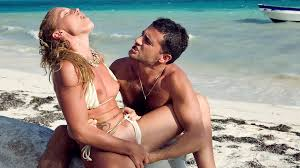 Beach couples sex trailer for free