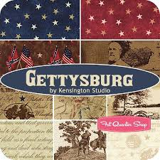A traditional collection to celebrate the 4th. Gettysburg by ... & Gettysburg by Kensington Studio for Quilting Treasures | Stars and Stripes  | Pinterest | Fat quarters, Fabrics … Adamdwight.com