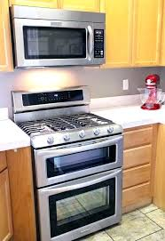 double oven microwave combo. Enchanting Double Oven Microwave Combination Gas And Wall Combo Range Electric