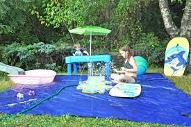build your own backyard splash pad a dog diy at home