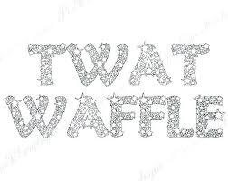 Word Coloring Pages Free Printable Curse Elegant Swear Or Twat