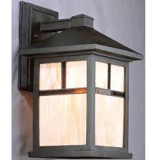 mission outdoor lighting fixtures. black mission outdoor wall lighting | bellacor with regard to style light fixtures 5