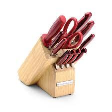 kitchenaid knives. kitchenaid 12-piece forged block knife set, candy apple red: amazon.ca: home \u0026 kitchen kitchenaid knives u