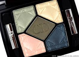 dior 5 couleurs eyeshadow palette in 456 jardin