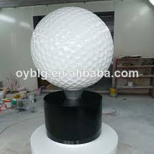 Golf Ball Decorations 60 new outdoor FRP golf ball decorations for ads View golf ball 33