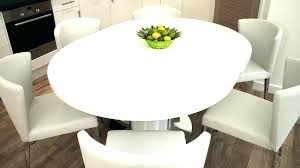 extending table and chairs round
