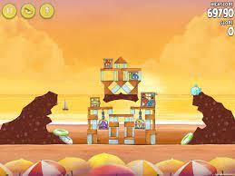 Angry Birds Rio Golden Beachball Walkthrough Level #29
