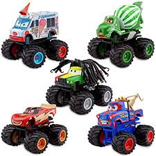 Amazon.com: Disney Deluxe Monster Truck Mater Figure Set: Toys & Games