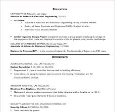Hvac Resume Template Enchanting 48 HVAC Resume Templates Free Samples Examples Format
