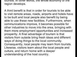 international tourism advantages and disadvantages  international tourism advantages and disadvantages