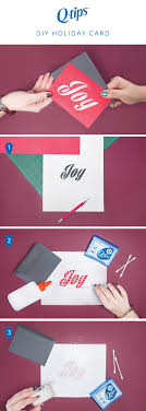 Spread cheer this season with a tutorial for a DIY holiday card. Start by  picking