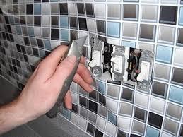 faux kitchen tile wallpaper. sheet vinyl faux glass tile dali decals backsplash kitchen wallpaper l