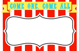 Carnival Signs Template Clipart Cliparting Com