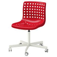 ikea red office chair. SKALBERG/SPORREN Swivel Chair, κόκκινο/λευκό, Rotating Chairs | IKEA Κύπρος Ikea Red Office Chair