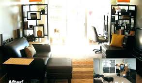 office in living room home ideas7 office