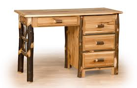cabin office furniture. Rustic Log Desk Cabin Office Furniture