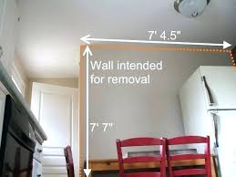 average cost of removing a load bearing wall how much does it cost to knock down average cost of removing