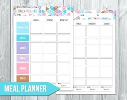 Daily Food Planner Journal Template Collections A Weekly Meal Planner Elegant Beautiful