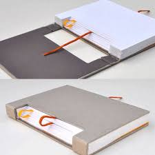 Gedankensprung - smart notebook concept by Austrian creative Konstantin  Schmlzer | Encuadernacin / Bookbing | Pinterest | Book binding,  Bookbinding and ...