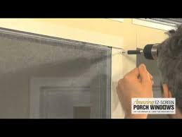 amazing ez screen porch windows installation you