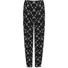 <b>Floral Print</b> Trousers: Amazon.co.uk