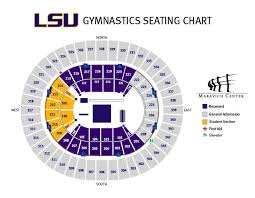 Secc Seating Chart Lsu Athletics Facilities Student Seating Charts Lsu Tigers
