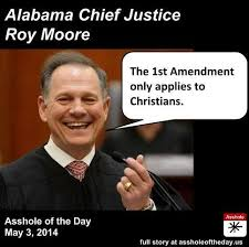 Roy Moore Quotes Beauteous The Warmonger Report DOUCHEBAG OF THE WEEK ROY MOORE AND ALABAMA