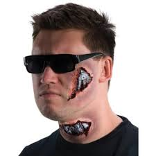 ill be back cyborg latex makeup kit terminator makeup mask wound prosthetic new in on alibaba